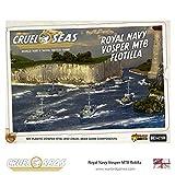 Cruel Seas Royal Navy Vosper MTB Flotilla, World War II Naval Battle Game ... ...