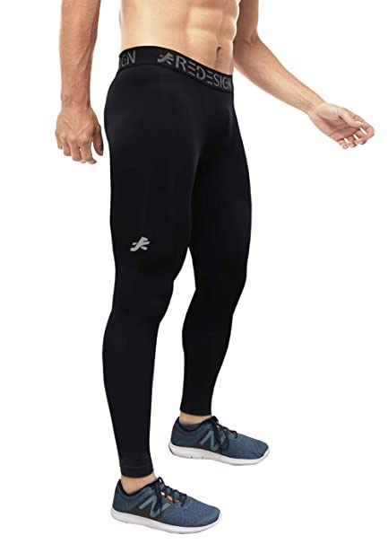 numerous in variety great deals hot sales ReDesign Apparels Men's Nylon Compression Pants