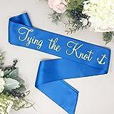 Nautical Bachelorette Sash - Tying The Knot