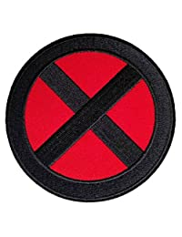 "Marvel X-men Storm Logo Embroidered Sew/Iron-on 3.5"" InspireMe Family Owned"