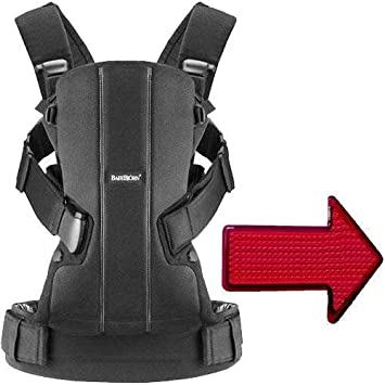 d6493ffff56 Amazon.com   Baby Bjorn - Baby Carrier We with LED Light - Black Cotton    Baby