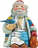 G. Debrekht Old World Harbor Light Sant a Figurine, for sale  Delivered anywhere in USA