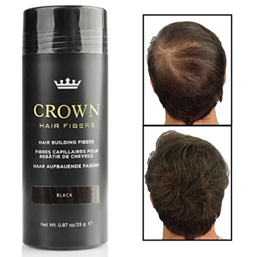 CROWN Hair Fibers - Concealer for Thinning and Balding Hair