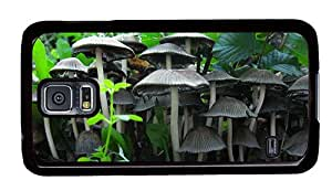 Hipster Samsung S5 DIY covers cogumelos mushrooms PC Black for Samsung S5