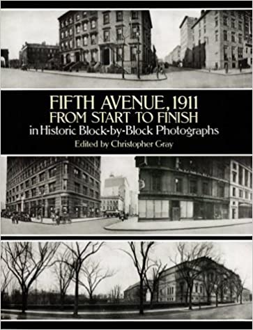 Book Fifth Avenue, 1911, from Start to Finish in Historic Block-by-Block Photographs (1995-01-27)
