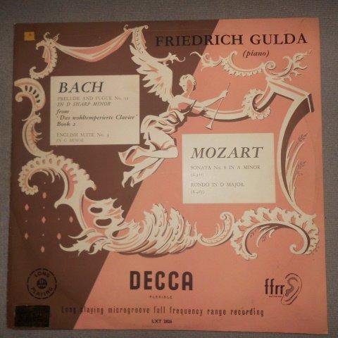 Bach: Prelude And Fugue No. 32 In D Sharp Minor, English Suite No. 3 In G Minor, Mozart: Sonata No. 8 In A Minor (K.310), Rondo In D Major (K.485) (Mozart Piano Sonata No 8 In A Minor)