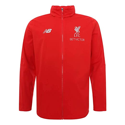 196c032f810 Amazon.com  New Balance 2018-2019 Liverpool Mens Precision Rain Jacket  (Red)  Sports   Outdoors