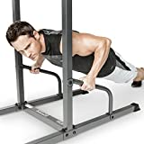 Marcy Power Tower Multi-Grip Pull Up & Dip