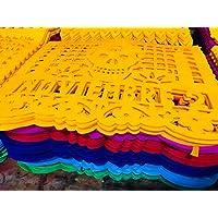 Papel Picado día de Muertos/Mlillar en colores surtidos