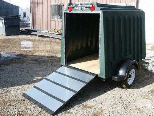 enclosed utility trailer - 1