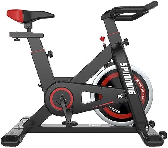 Bicicleta de ejercicios muda para interiores Bicicleta de spinning cubierta Ciclismo bicicleta estacionaria asiento cómodo Cojín interior que hace girar la bici de la bicicleta con Tablet Holder No ha: Amazon.es: Deportes