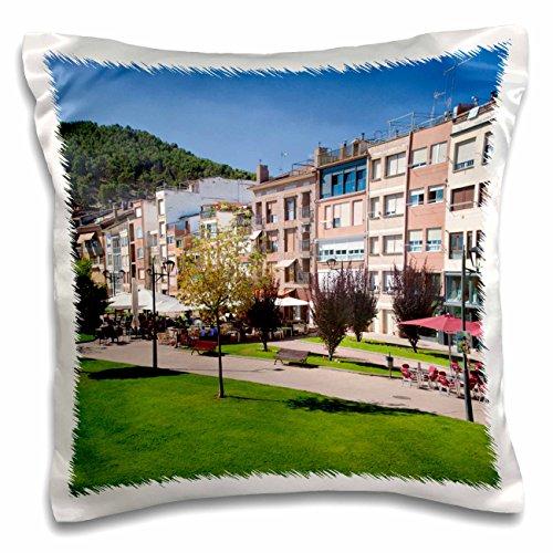 3dRose Spain, La Rioja Region, La Rioja Province, Najera - EU27 WBI0212 - Walter Bibikow - Pillow Case, 16 by 16-inch (pc_139188_1) by 3dRose