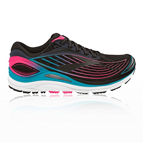 fashionable sale online clearance new styles Brooks Women's Transcend 4 Running Shoes Black avT0dC