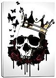 Cortesi Home ''El Rey De La Muerte'' by Nicklas Gustafsson, Giclee Canvas Wall Art, 28''x40''