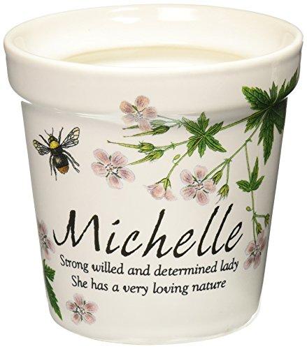 - Personlaized Candle Pots PCP - Michelle