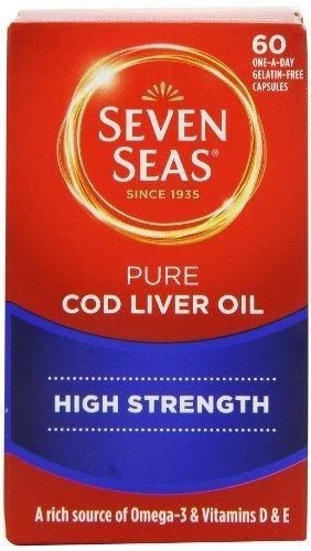 omega 3 cod liver seven seas - 7