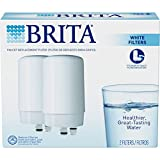pull out faucet water filter - Brita On Tap Basic Water Faucet Filtration System Filter, White, 2 pack