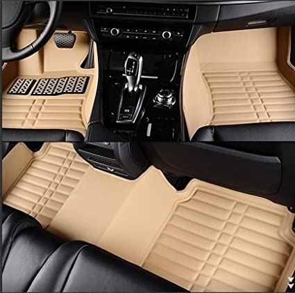 leather car floor mat for Audi A3 A5 A8 A4 A6 A7 Q3 4 5 6 7 TT A4L A6L A8L Q5 Q7 A1 A3 A5 A6 A7 floor mat rug