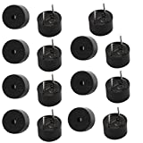 Aexit 15pcs DC Security & Surveillance 5V Active Buzzer Magnetic Continous Beep Tone Alarm 9mm Horns & Sirens x 5.5mm