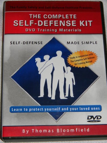 The Complete Self-Defense Kit DVD Training Materials, Self Defense Made Simple, By Thomas Bloomfield