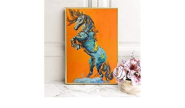 RTCKF Cartel de Animal Abstracto Moderno e impresión de ...