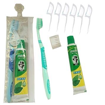 Amazon.com: Kit de pasta de dientes y cepillo de dientes de ...