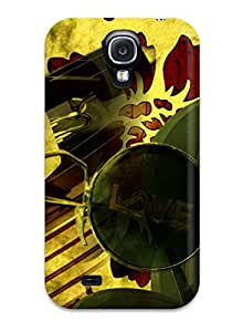 For Galaxy S4 Protector Case Retro Phone Cover
