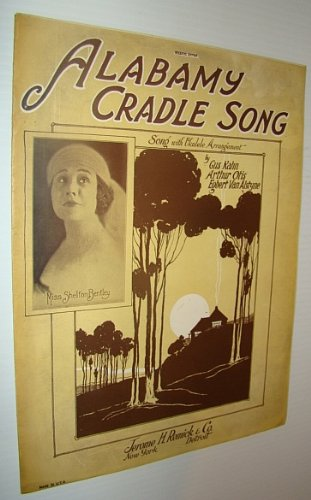 Alabamy Cradle Song - Sheet Music for Vocal and Piano with Ukulele Chords
