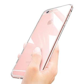 Funda iPhone 6s, innislink Funda iPhone 6 Carcasa iPhone 6s Cover Silicona TPU Bumper Case Anti-Golpes Caso Slim Anti-Rasguño Cristal Original ...