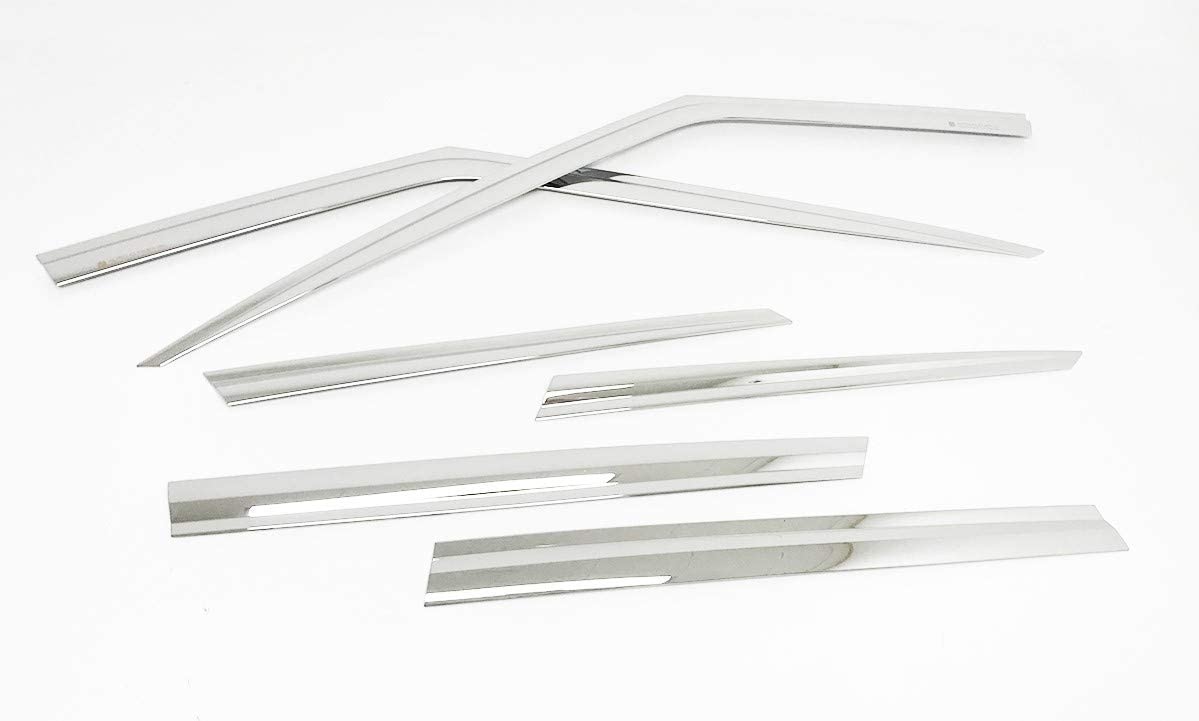 Autoclover Chrome Wind Deflectors Set for Range Rover Sport 2013+ 6 pieces