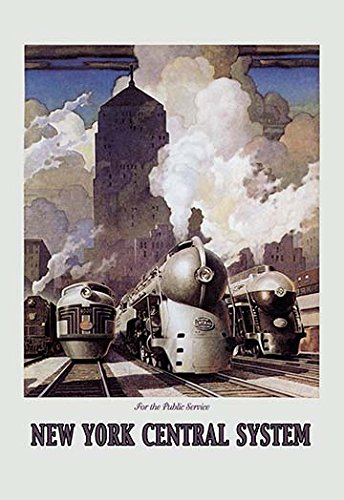 new york central system poster - 1