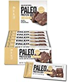 Paleo Thin® Protein Bar (Almond Fudge) 12 Bars (20g Grass-Fed Beef) (Low Net Carbs) w/Organic Prebiotics) (Gluten Free)