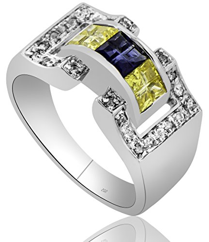 mens-sterling-silver-925-ring-featuring-27-yellow-blue-and-clear-invisible-and-prong-set-cubic-zirco