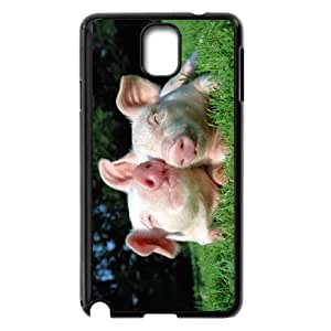 Cute pet baby pig Hard Plastic phone Case Cover For Samsung Galaxy NOTE4 Case Cover XFZ397010