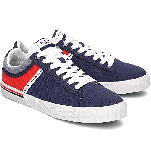 per Pms30531 Sneakers Jeans North 40 blu Navy uomo navy Pepe Ixt0fx