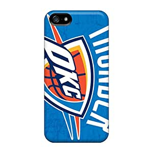 Iphone 5/5s YWQ19234MeqT Provide Private Custom Nice Oklahoma City Thunder Pictures Excellent Cell-phone Hard Cover -MarieFrancePitre