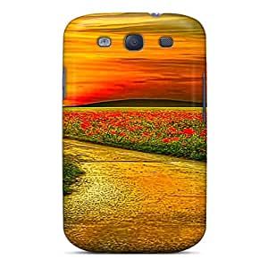 New Style Tpu S3 Protective Case Cover/ Galaxy Case - Leading To Sunset