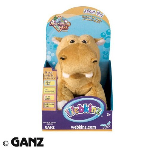 Webkinz Adventure Park Series - Mud Hippo in Box
