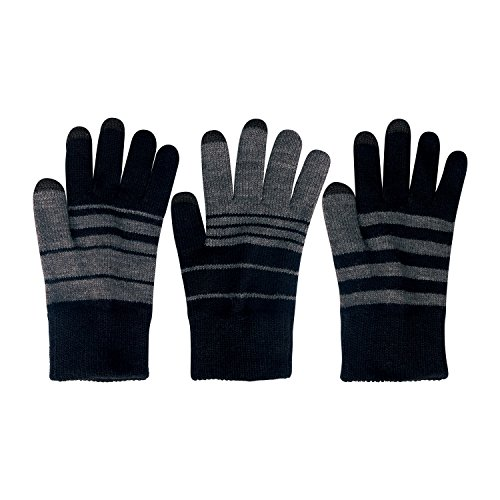 Verloop Trio Touchscreen Gloves - Black/Gray