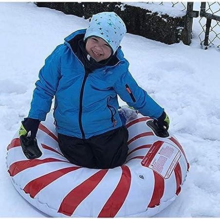 CLISPEED Winter Snow Tube Hochleistungs Schlauchboot Frostschutz Schlitten f/ür Kinder und Erwachsene