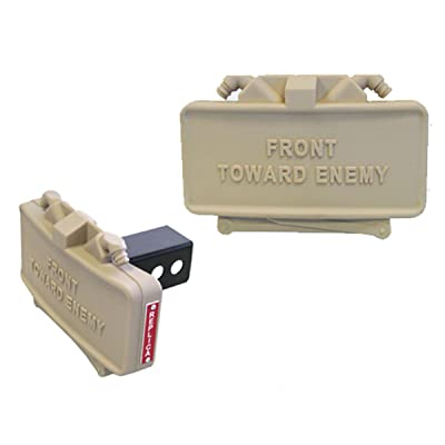 GG&G GGG-1791 Claymore Mine Hitch Cover - Tan: Sports & Outdoors
