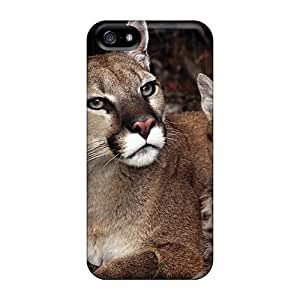 Ideal Favorcase Cases Covers For Iphone 5/5s(mother Kitten Mountain Lions), Protective Stylish Cases
