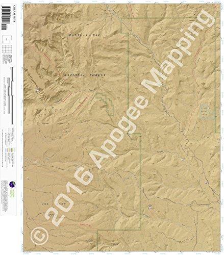 (Cream Pots, UT 7.5 Minute Topographic Map - Waterproof Paper)