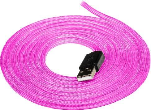 Cable Paracord Mouse - Purpura - Flexible Zerocable