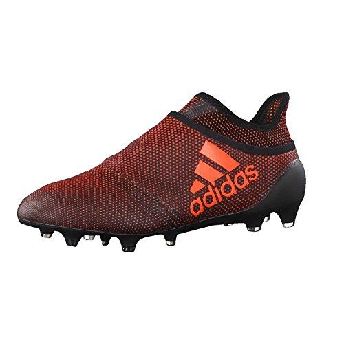 adidas X 17+ Purespeed FG, Scarpe Sportive Uomo Nero (Negbas/Rojsol/Narsol)