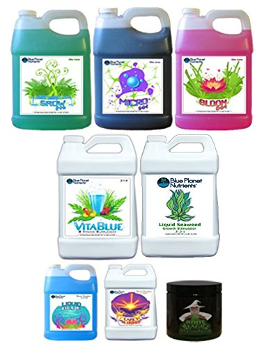 Blue Planet Nutrients 3-Part High Yield System by Blue Planet Nutrients