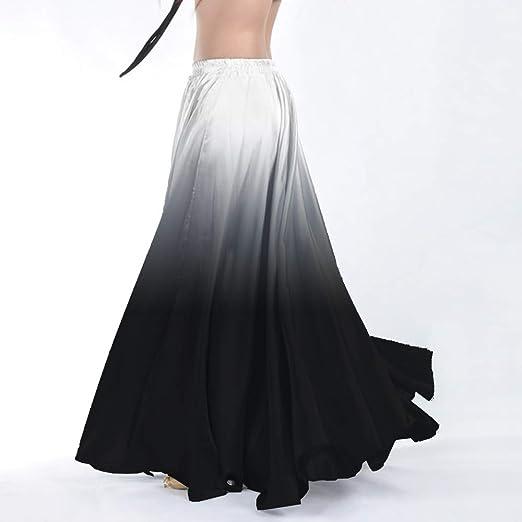 Backgarden Elegante Falda Larga para Danza del Vientre, para ...