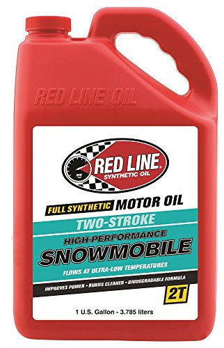 Red Line 41005 2-Stroke Snowmobile Oil - 1 Gallon Jug
