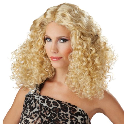 Bodacious Waves Wig Costume Accessory -