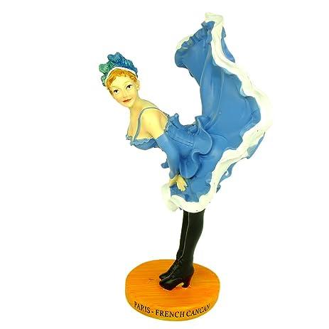amazon com souvenirs of france paris french cancan statue rh amazon com Vintage Clip Art Old French Clip Art